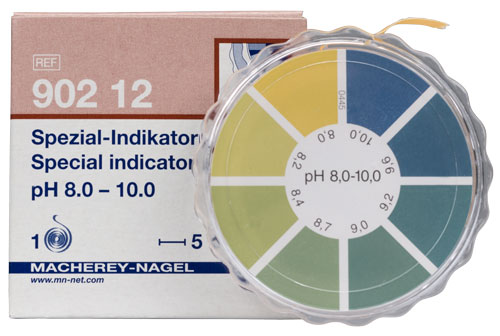 SPECIAL INDICATOR pH 8.0-10.0 dispenser #90212