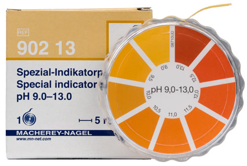 SPECIAL INDICATOR pH 9.0-13.0 dispenser #90213