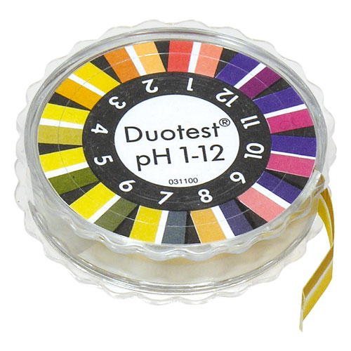 DUOTEST pH 1-12 DISPENSER #90301