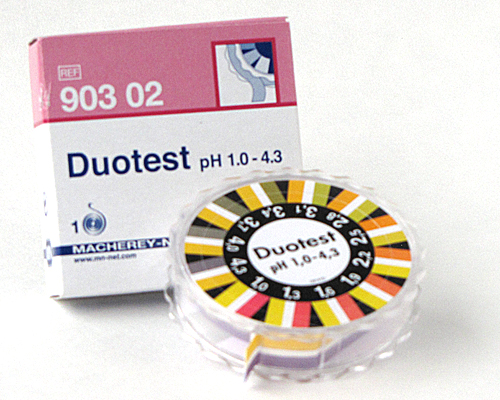 DUOTEST pH 1.0-4.3  DISPENSERS #90302
