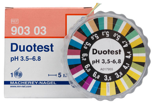 DUOTEST pH 3.5-6.8   DISPENSER #90303