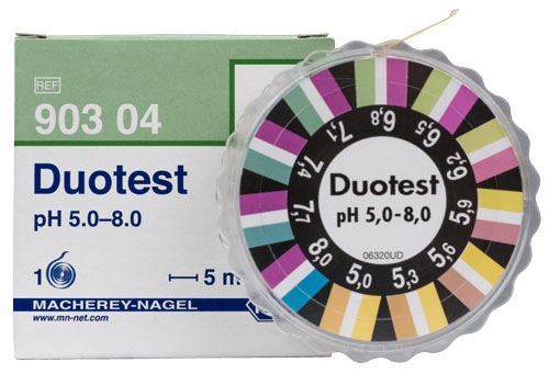 DUOTEST pH 5.0-8.0   DISPENSER #90304