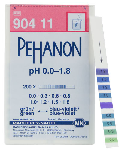 PEHANON pH 0.0-1.8 #90411