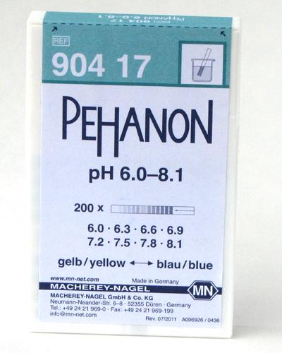 PEHANON pH 6.0-8.1 #90417