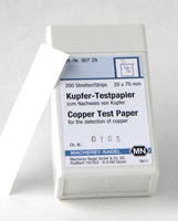 Copper test paper #90729