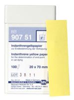 Indanthrene yellow paper #90751