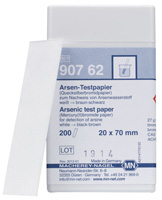 Arsenic test paper *This item is hazardous and cannot ship Parcel Post. It is required to ship UPS Ground* #90762