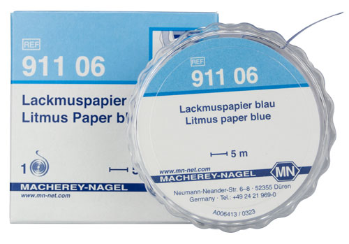Litmus paper blue #91106