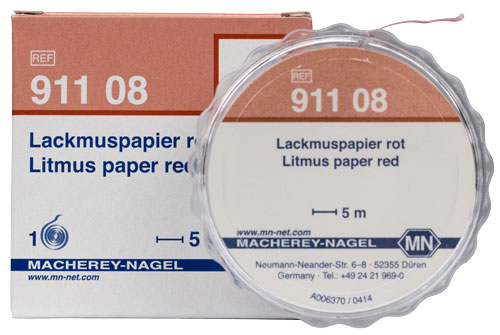 Litmus paper red #91108