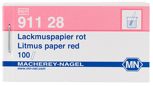 Litmus paper, red 5.0-8.0 #91128