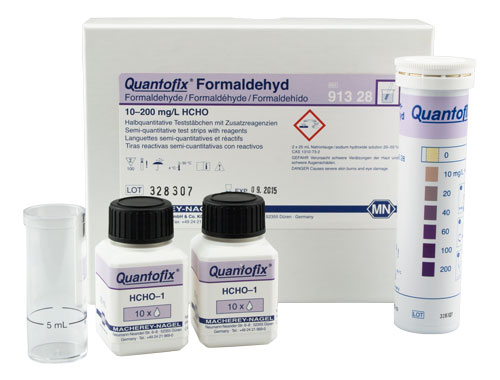 QUANTOFIX® Formaldehyde *This item is hazardous and cannot ship Parcel Post. It is required to ship UPS Ground* #91328