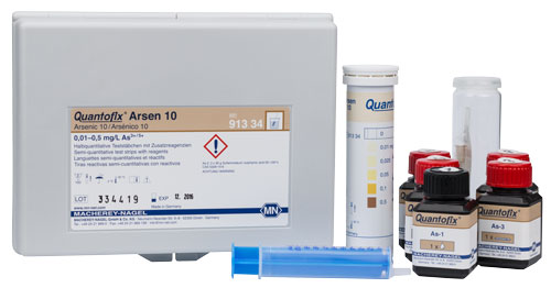 QUANTOFIX® Arsenic 10 *This item is hazardous and cannot ship Parcel Post. It is required to ship UPS Ground* #91334