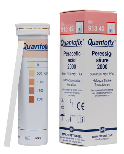 QUANTOFIX Peracetic Acid 2000 #91342