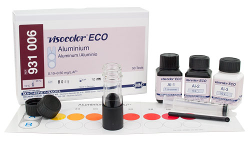 ALUMINUM TEST KIT (VISOCOLOR® ECO ALUMINUM) #931006
