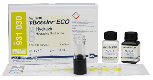 HYDRAZINE TEST KIT (VISOCOLOR ECO HYDRAZINE) *This item is hazardous and cannot ship Parcel Post. It is required to ship UPS Ground* #931030