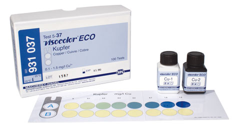 COPPER TEST KIT (VISOCOLOR® ECO COPPER) #931037