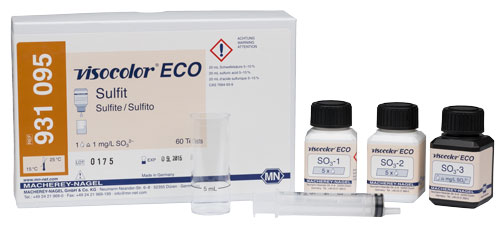 SULPHITE TEST KIT (VISOCOLOR® ECO SULPHITE) #931095
